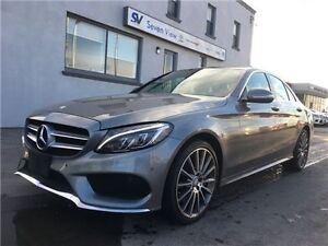 2015 Mercedes-Benz C-Class C400 4matic Only 6000 KMS !!!