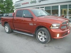 2013 Ram 1500 Sport AIR Suspension Navigation 4X4 8.4 Radio Belleville Belleville Area image 2