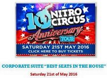 Nitro Circus 10th Anniversary Tour - $375pp 2+ - CORPORATE SUITE Blue Haven Wyong Area Preview