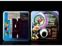 PRAKTICA BINOCULARS & MINIATURE DIGITAL PHOTO FRAME - FOR SALE