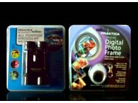 PRAKTICA ALL PURPOSE BINOCULARS/MINIATURE DIGITAL PHOTO FRAME - FOR SALE.