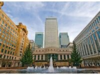Modern Canary Wharf (E14) Office Space available in various sizes - Private and Serviced Units