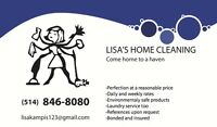 Lisa's Home Cleaning