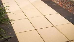 $1.60 each Pavers x 314 (28 sq.m)'Claypave' Sand 300x300x48mm New Lambton Heights Newcastle Area Preview