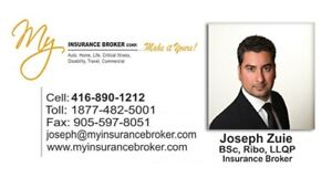 Call for Free Auto Insurance Quotation & Save! 416-890-1212