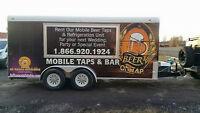 Refrigerated Trailer/Draft Beer Trailer, Outdoor Weddings