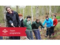 LOOKING FOR A CHALLENGE? AGED 16-25? JOIN TEAM TO BOOST YOUR SKILLS & CONFIDENCE!