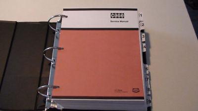 Case 1835 Uni-loader Service Manual Repair Shop Book Nice New With Binder