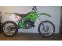 kx 250 2 stroke 1996 model mint bike very fast must see!!!