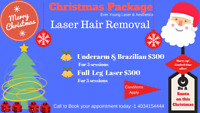 Laser Hair Removal (only for Ladies)#Christmas#Special #Offers