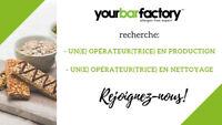 Emploi Châteaguay - Opérateur production et nettoyage