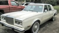 1985 CHRYSLER 5TH AVENUE....PRIVATE SALE......LOW LOW KMS!!