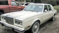 1985 CHRYSLER 5TH AVENUE...{.PRIVATE SALE.}.....LOW LOW KMS!!