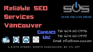 Reliable SEO Services In Vancouver
