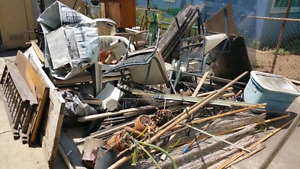 LOW COST -Junk removal - reno clean-up