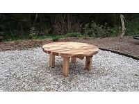 Oak sleeper Table garden furniture sets railway sleeper bench seat Christmas Present gift ideas