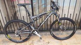 Scott spark 650 full suspension mtb bike