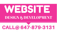 Launch Ready Web Design & Development in GTA, CALL@647-879-3131