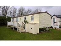 Private Static Caravan To Rent At Park Dean Resorts On St Margaret's Bay Holiday Park Dover Kent.
