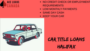Halifax's #1 Car Title Loans by Ace Loans Canada