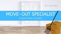DOWNTOWN MOVE- OUT CLEANING