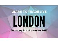 'Learn To Trade Live' 1 Day Beginner Course - 4th November 17 in London
