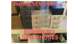 Buying all Brand New phones! Local & Overseas *We pick up*
