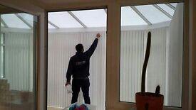 Window Blinds-3 verticals £89