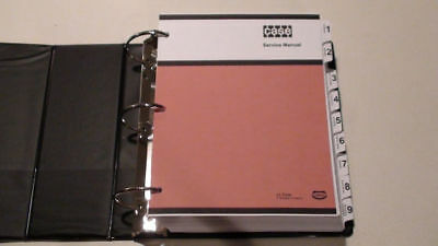 Case 850 Crawler Dozer Bulldozer Service Manual Repair Shop Book New With Binder