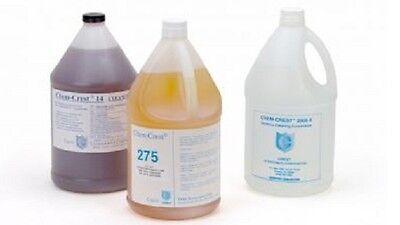Crest 4 Gallon Chem Crest 2003 Ultrasonic Heavy Duty Fluid Cleaning Solution