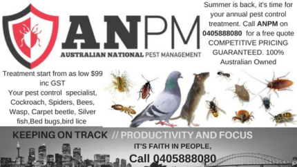 Australian National Pest Management