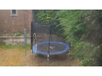Free Trampoline with safety net