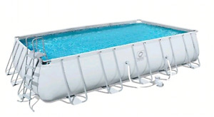 TRADE or sell 12' or 16' intex pool for 20'x12'