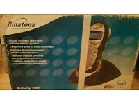 Binatone digital cordless telephone with answer machine