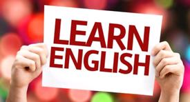 English language tuition £12 per hour