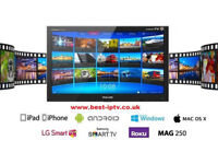 UK Premium IPTV + VOD free trials low prices . Mag Android Smart TV Smart IPTV - £28 for 12 months