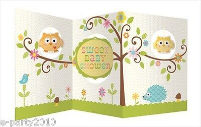 HAPPI TREE OWL CENTERPIECE ~ Baby Shower Party Supplies Table Room Decorations](Owl Baby Shower Supplies)