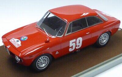 ALFA ROMEO GIULIA GTA 1,6 TOUR de CORSE 1965 BIANCHI-GEORGES TECNOMODEL TM18060E