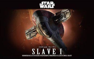 Bandai Star Wars Boba Fett's Patrol Ship Slave I 1/144 Scal NEW USA Seller