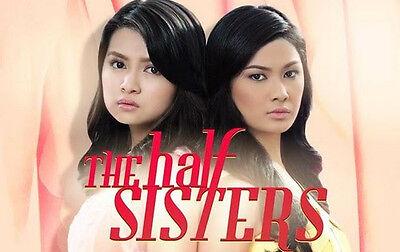 The Half Sisters Complete Set Filipino TV Series DVD teleserye