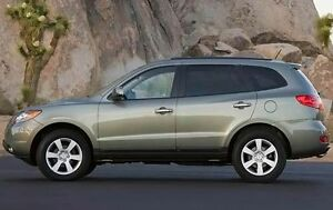 2009 Hyundai Santa Fe GLS SUV, brand new WINTER TIRES