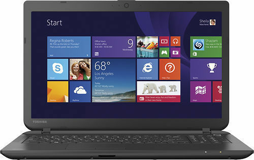 Toshiba - Satellite 15.6 Laptop C55D-B5206 - AMD A8-Series - 4GB Memory - 750GB™