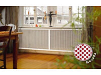 Radiator Cover Sheet Cabinet Decorative Screen Panel Mesh Grille Radiator Grill