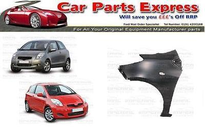 FRONT FENDER LEFT N//S COMPATIBLE WITH TOYOTA YARIS HATCHBACK 2006-2009