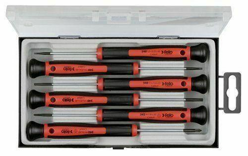 Felo 31844 6 Pc SL/PH Precision Screwdriver Set w/ Case - Ma