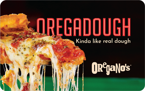Oregano s Pizza Bistro Gift Card 100.00 - $63.00