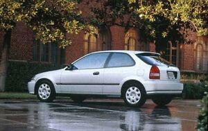 1991-1999 Honda Civic Hatchback or Coupe