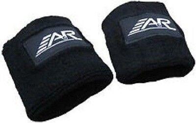- New A&R Hockey Football Lacrosse Padded Wrist Guard Molded Plastic OSFM Black