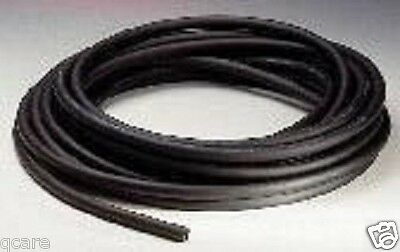 5 Feet 38 I.d X 116 W X 12 O.d Surgical Latex Black Rubber Tubing