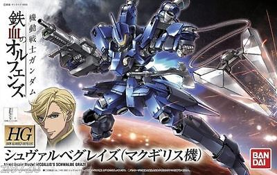 New Bandai Hg Iron Blooded Orphans 1 144 Graze High Mobility Commander Type Kit